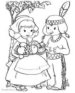 the first thanksgiving coloring pages gallery for gt the first thanksgiving feast coloring page