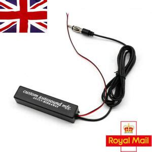 electronic auto car stereo aerial am fm radio hide lified antenna uk ebay