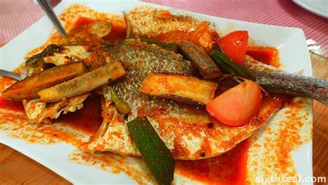 ikan asam pedas restaurant peranakan aunty koh cendol and the melaka