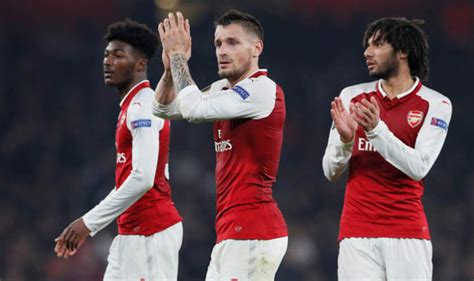arsenal player ratings against red star belgrade sport arsenal player ratings gunners draw blanks against red