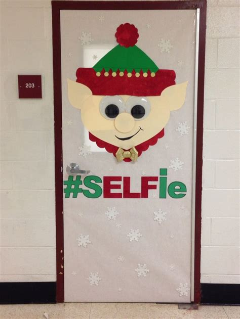 printable christmas decorations classroom elf christmas door decorating contest christmas fun