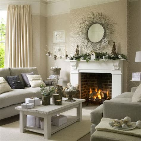 decorated living room 60 elegant christmas country living room decor ideas