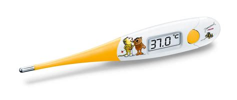 Termometer Beurer beurer express flexi tip thermometer white yellow co uk baby