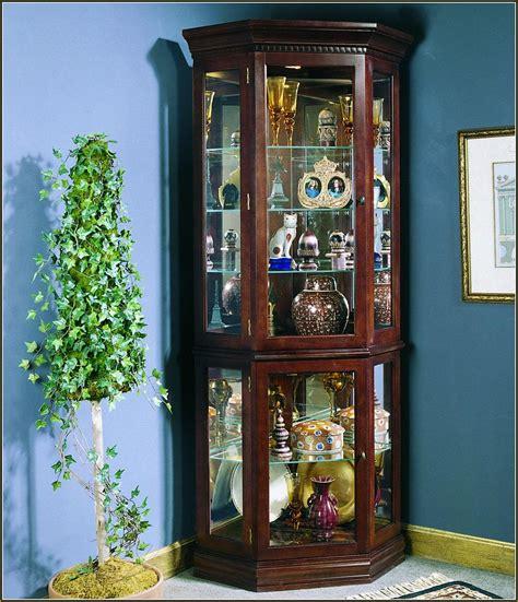 corner lighted curio cabinet corner curio cabinets walmart cabinets design ideas