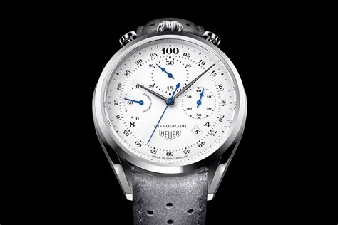 Tag Heuer Anniversary 2016 tag heuer mikrograph 100th anniversary the tag that