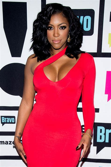 porsha williams porsha williams has a scare during a flight to