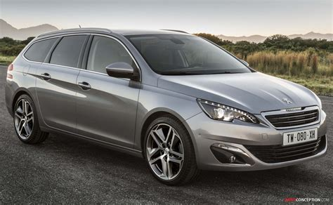 peugeot estate 308 new peugeot 308 sw estate ready for geneva show