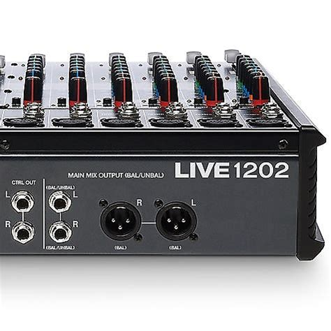 Mixer Alto Live 1202 alto live 1202 12 channel 2 mixer with dsp and usb reverb