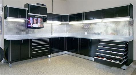 Garage Rack Systems by Garage Cabinets Comfortable And Neat With Garage Storage Design Unique Garage Cabinets