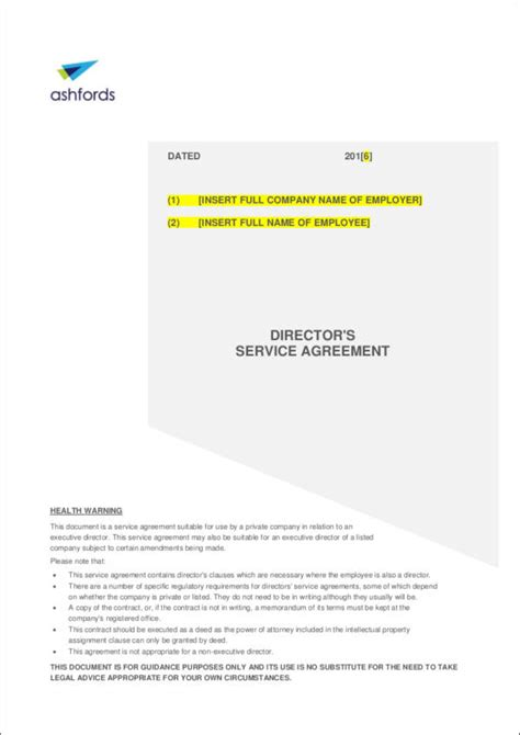 directors service agreement employment contract checking before you sign an employment contract sle