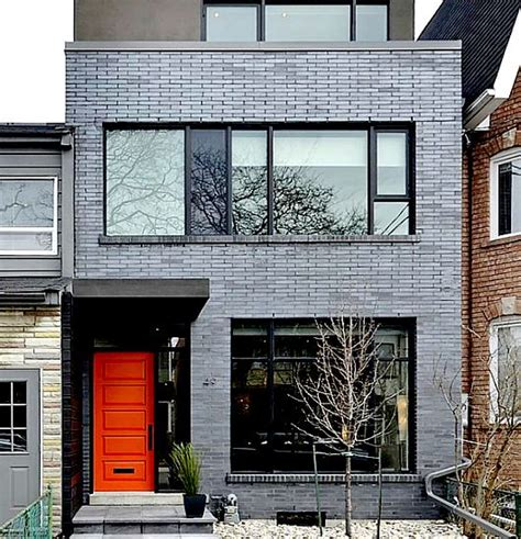 Duplex Homes by Best 25 Modern Brick House Ideas On Pinterest