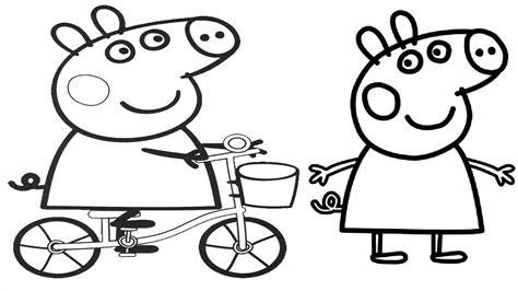 peppa pig coloring pages baby pepa pig coloring pages baby animals pepa best free