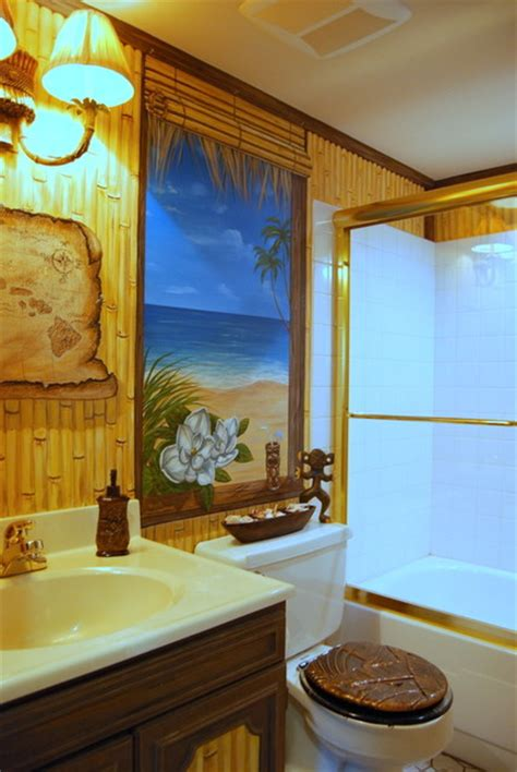 tropical themed bathroom ideas tropical themed bathroom 28 images hawaiian beach themed mural by tom taylor of