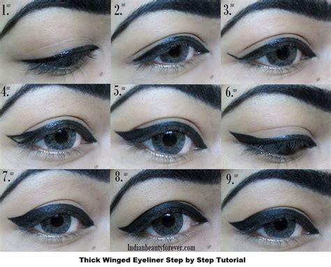 tutorial eyeliner wings 77 best step by step eye liner images on pinterest hair
