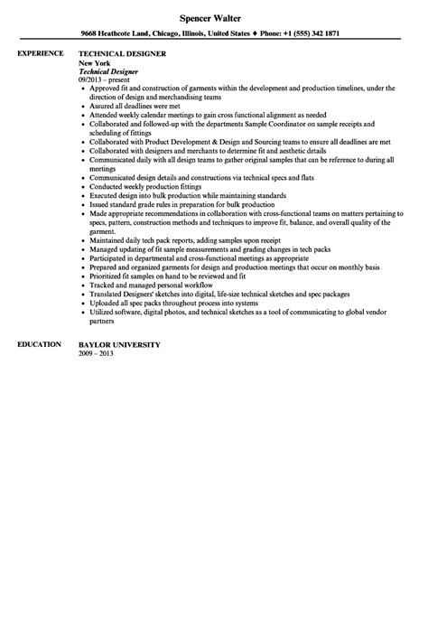 resume sle for autocad designer textile cad designer resume resume format textile designer