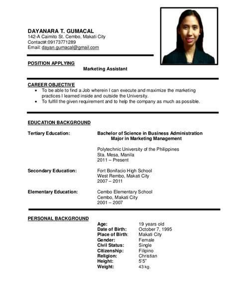 Sample Career Objective For Resume by Resume