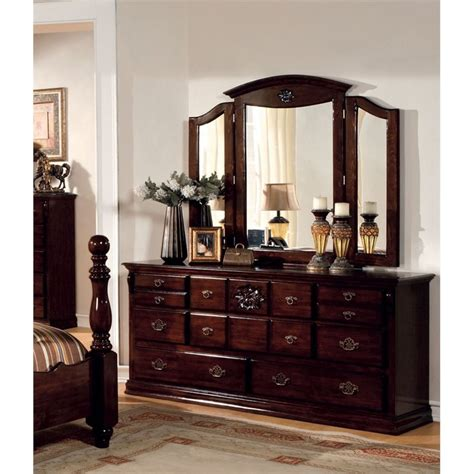 4 piece bedroom furniture sets furniture of america cathie 4 piece king bedroom set idf