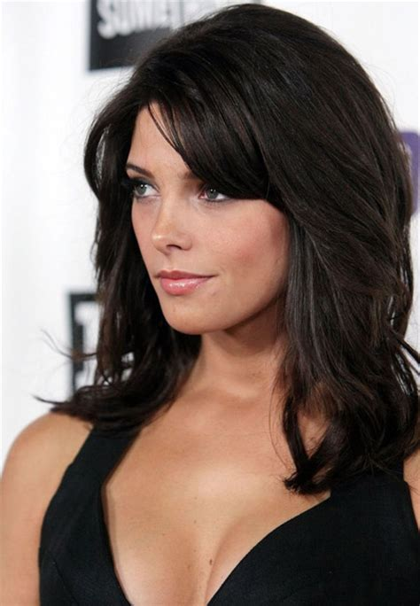 going out hairstyles with a fringe layered hairstyles with side fringe