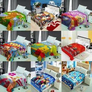 Selimut Karakter Panel Bulu promo termurah selimut karakter soft panel blangket selimut bulu import shopee indonesia
