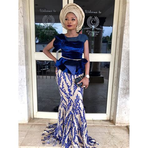 owambe styles peplum lace asoebi styles rocking owambe waves a million