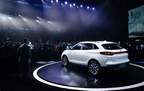 Lu Led Motor Ex5 威马首车ex5亮相 环球网带您了解什么是威马汽车 汽车 环球网