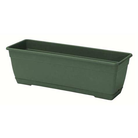 Marchioro Planters by Marchioro 31 5 In Window Box Planter Green 364283x