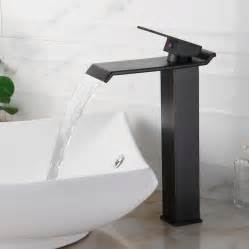 bathroom sink with faucet vessel sink faucets design rubbed bronze home inspiring
