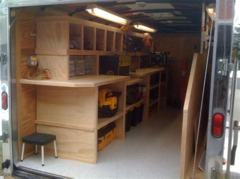 my trailer contractor tool trailer setup thank you everyone for the