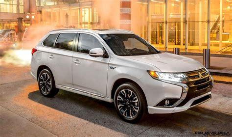 Mitsubishi Hybride 2020 by Ny Debuts 2017 Mitsubishi Outlander Phev Hybrid Li Ion