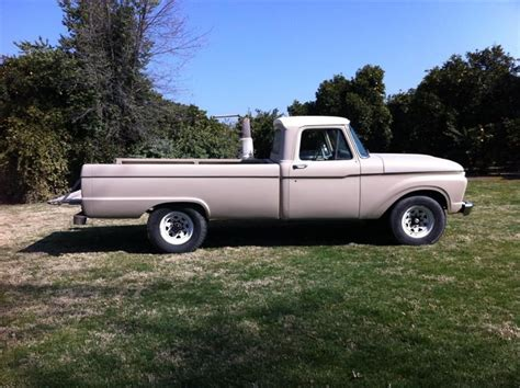 f250 long bed 1965 ford f100 f250 long bed truck rat rod slick sixty a