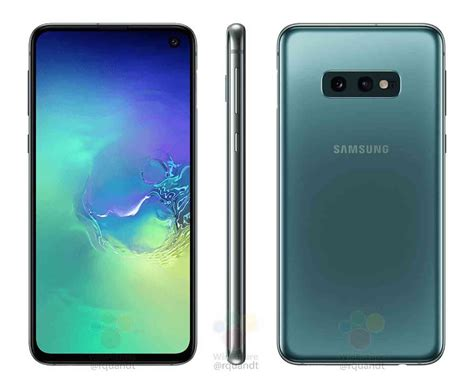 1 Samsung Galaxy S10e by Samsung Galaxy S10e Appears In Leaked Press Renders Phonedog