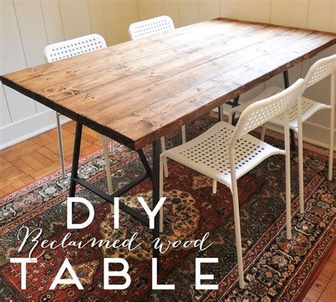 best 25 diy wood table ideas on benches diy