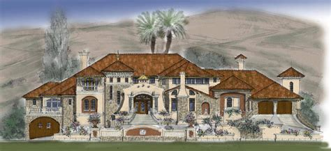 luxury mansion plans home ideas