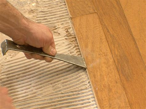 Installing Real Hardwood Floors How To Install Engineered Wood Concrete How Tos Diy