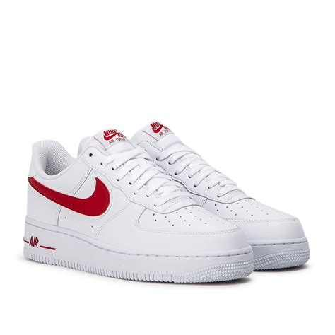 nike air force    weiss rot ao