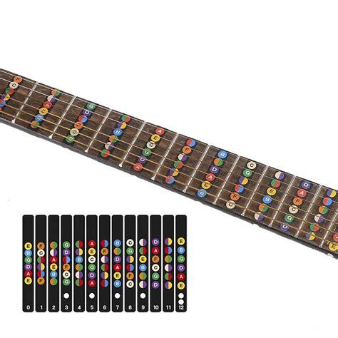 Jual Kunci L Untuk Gitar stiker penanda fret gitar label untuk belajar kunci