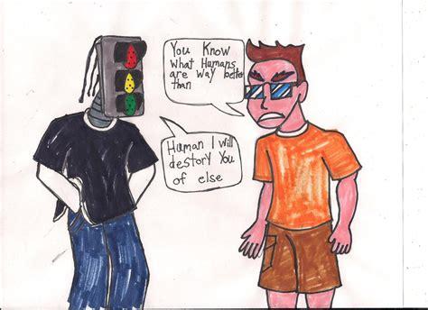 human android human vs android by ajkiel91 on deviantart
