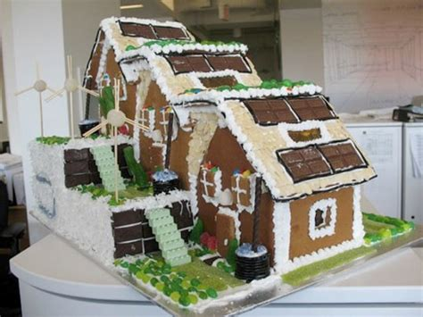 ginger hill design and build hok leed platinum gingerbread house inhabitat green