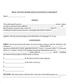 home offer letter template 8 real estate offer letter template 9 free word pdf