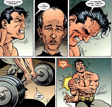how much can batman bench batman venom review graphic novel analysis read through