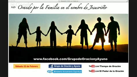 imagenes de la familia rezando oracion para fortalecer las familia youtube