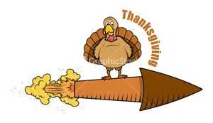 thanksgiving turkey vector thanksgiving turkey on rocket vector