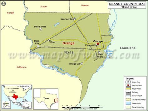 orange county usa map orange county map map of orange county