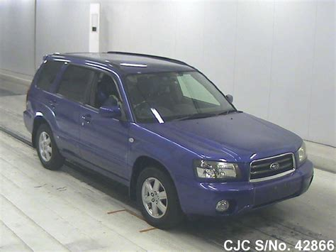 2003 subaru forester engine for sale 2003 subaru forester blue for sale stock no 42866
