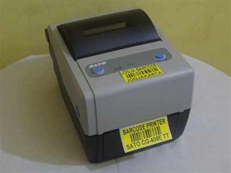 Printer Barcode Sato Cg 408 Tt Cg408 Cg 408 Tt Harga Promo Usb jual barcode printer sato cg 408 tt rahma aulia