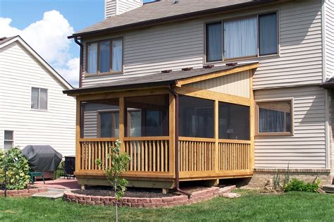 Enclosed Porch Plans by Southeastern Michigan Screened Porches Enclosures Amp Sheds