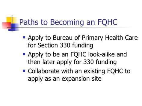 section 330 grant fqhc incubator program community grants