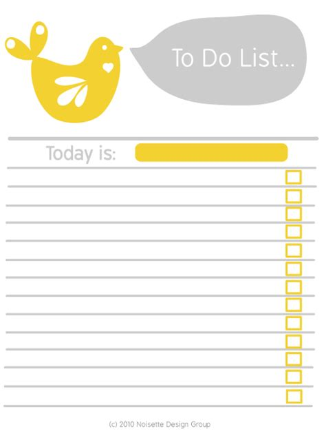 to do list word template march 2011 simple joys of home