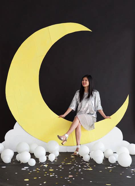 Wedding Backdrop Moon by Moon Backdrop Diy