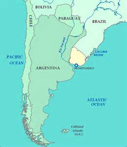 uruguay map south america usa basketball u16 2013 uruguay